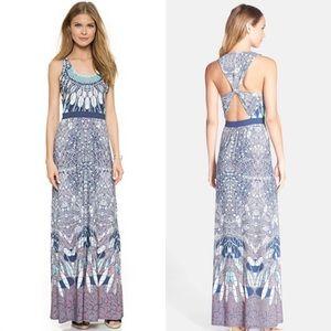 BCBG Adriene Printed Maxi Dress